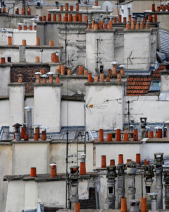 Michael Wolf, Paris Rooftop, Paris Abstract