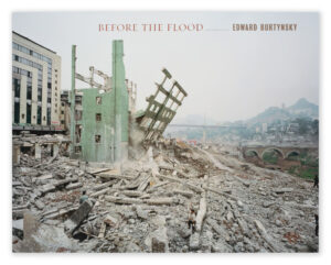 Edward Burtynsky Before the Flood book